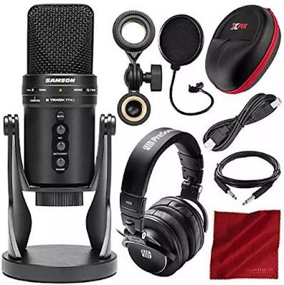 Streaming Microphone Samson G-Track Pro