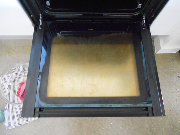 Cleaning the oven with bicarb soda - does it work?