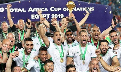 Bounedjah early goal Algeria beat senegal 1-0 win first AFCON title in 29 years