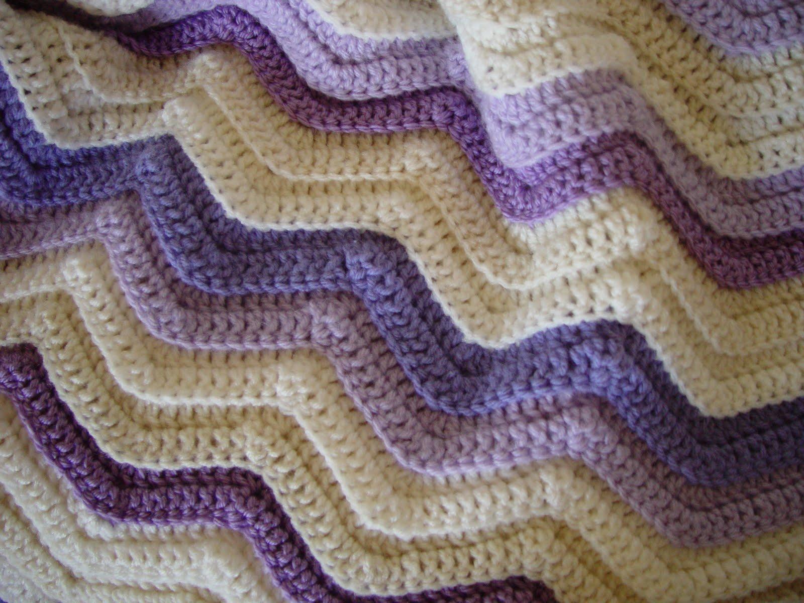 Double Crochet Ripple Patterns Crochet And Knitting Patterns