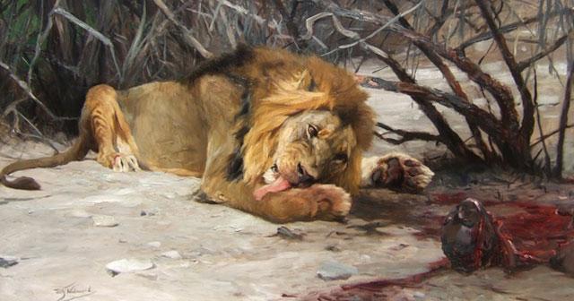 Harimau Makab Daging
