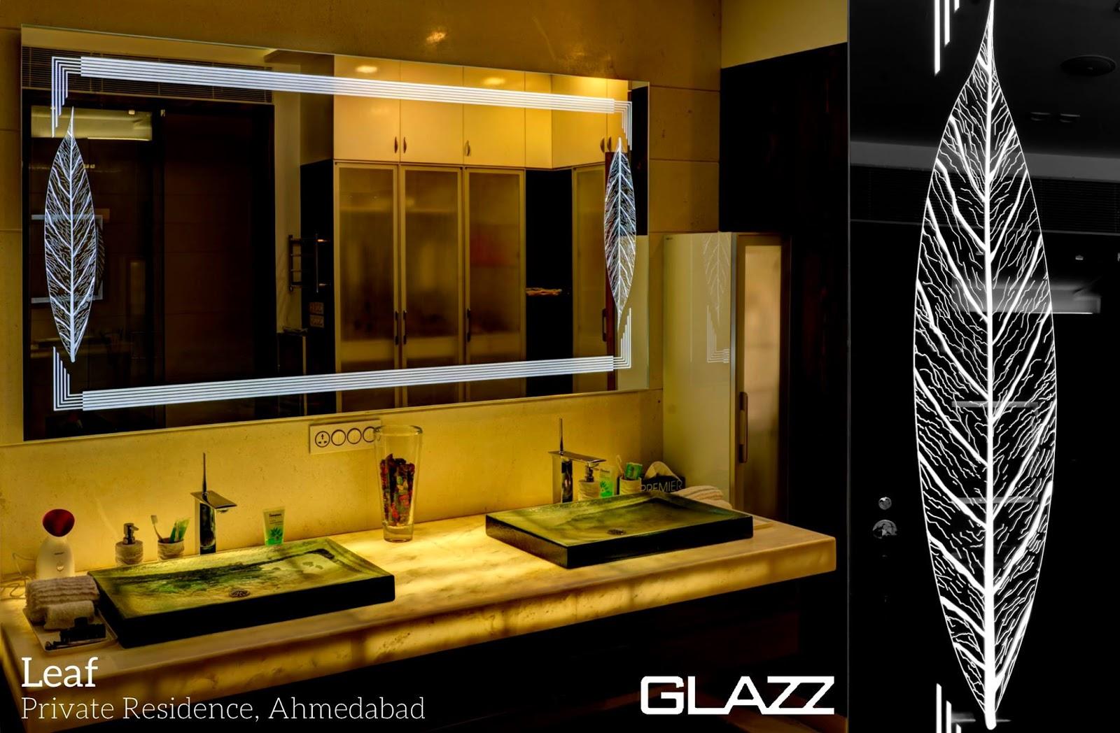 Filigree Mirror Glass