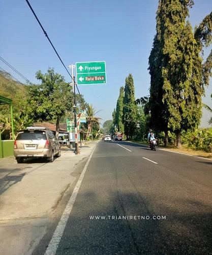transportasi ke istana ratu boko yogyakarta