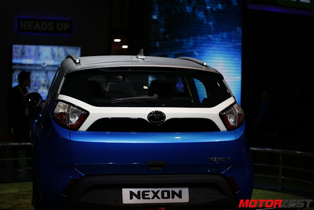 Tata Motors compact SUV NEXON at Delhi Auto Expo 2016