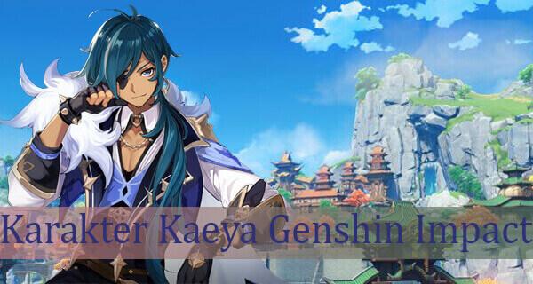 Karakter Kaeya Genshin Impact Build
