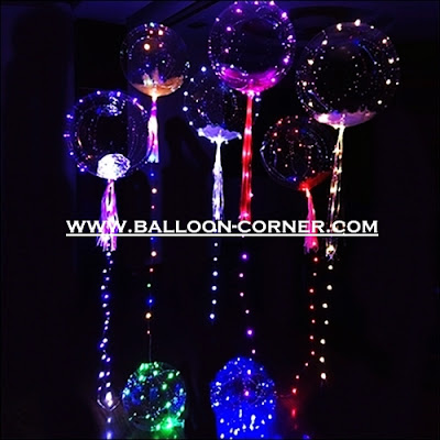 Lampu Hias Balon LED Battery