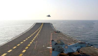 aircraft carrier INS Vikramaditya