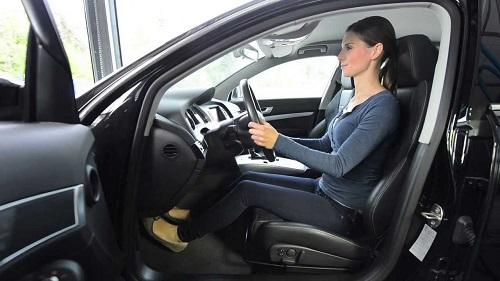 Prawidłowe siedzenie u kierowców