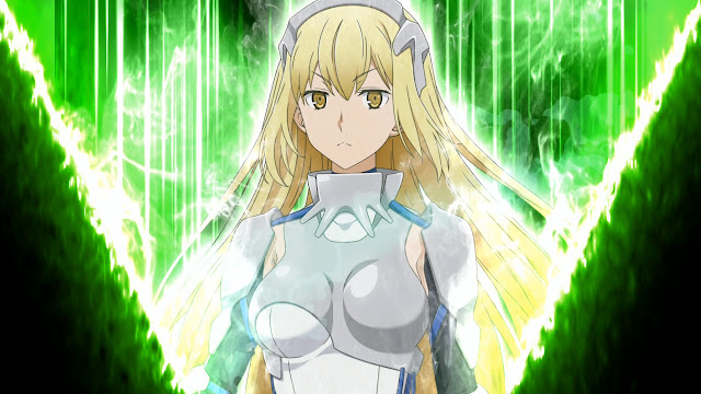 Ataque de apoyo Aiz Wallestaein Is It Wrong to Try to Pick Up Girls in a Dungeon Family Myth - Infinite Combate