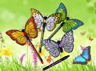 sophia butterfly pens