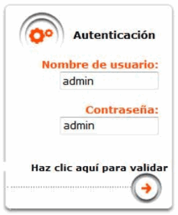 Autenticación Livebox Next