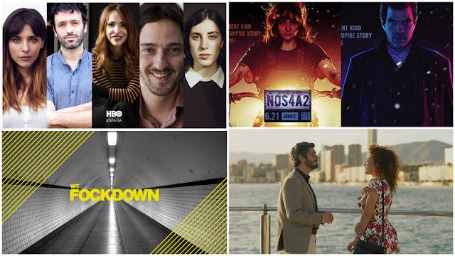 'En Casa' 5 ficciones cuarentena en HBO, trailer 2ª temporada 'NOS4A2', 'Benidorm', columna opinion 'WTFockdown'