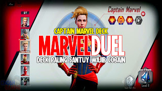 marvel duel captain marvel deck list