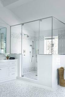 baño modernos blanco