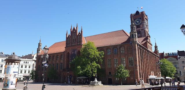 Toruń Rynek i Ratusz Staromiejski