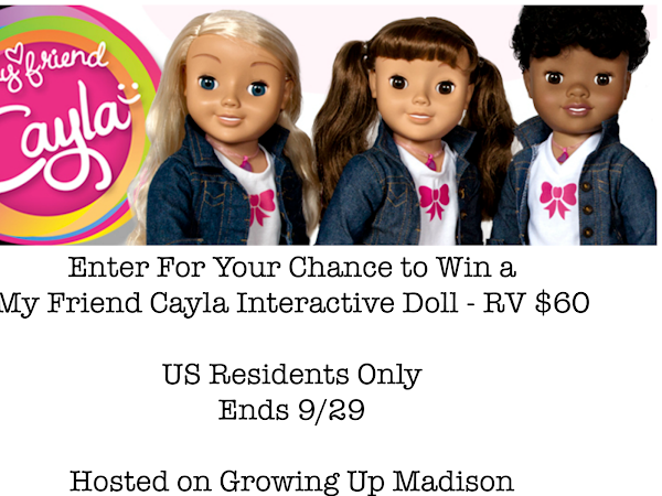 My Friend Cayla Interactive Doll Giveaway