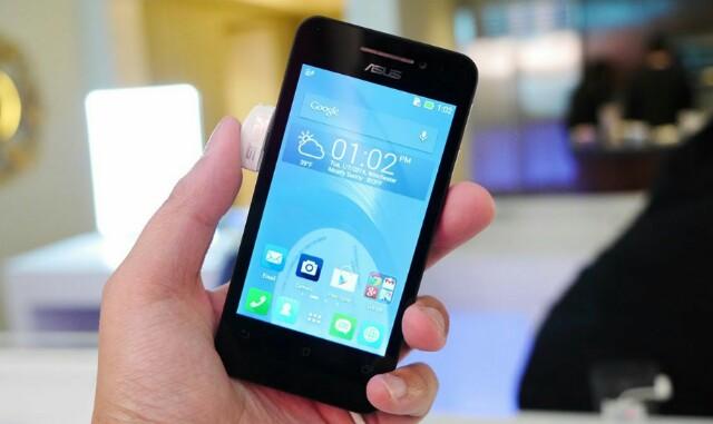 Cara Flashing Si Mungil Asus Zenfone 4 T00I Tanpa PC