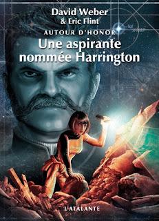Couverture livre - critique littéraire - Une aspirante nommée Harrington - Honor Harrington