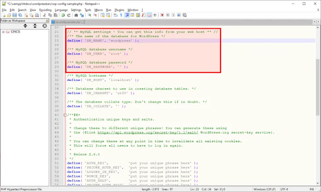 Ganti Code Database WordPress