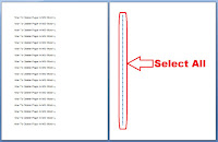 how to delete blank page in word 2013
