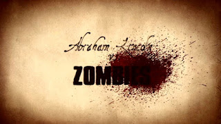 Abraham Lincoln vs Zombies title