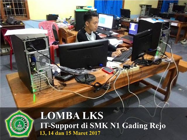 Lomba LKS | IT-Support 2017 | Juara 3 dari 21 Peserta Lomba. SMK Yasmida Ambarawa
