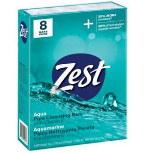Xà Bông Zest Aqua Pure Cleansing Bar With Vitamin E Hàng Xách Tay Mỹ