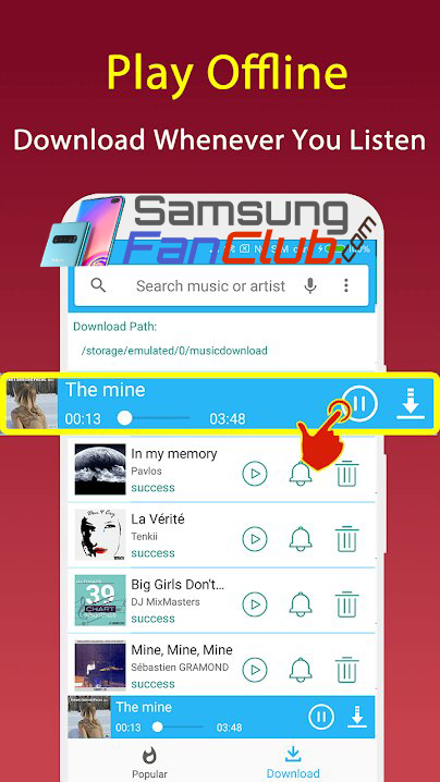 List of 6 Best Music Downloader Android Apps for Samsung Mobile Phones