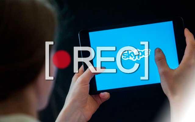 Skype Grabacion de Videollamadas