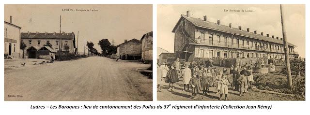 LUDRES (54) - 37e Régiment d'infanterie 1915