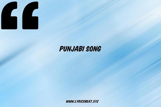 Latest punjabi song lyrics 2020 With videos & Images Quotes  #LyricsBEAT