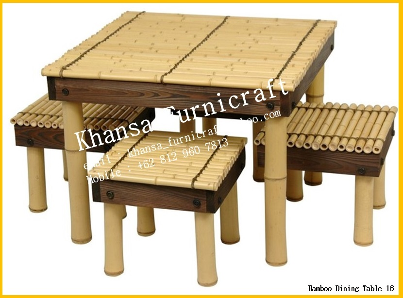 indonesian bamboo bamboo dining room decorative bamboo dining room chairs furniture design