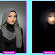 Edit Foto Sorot lampu ( Lighting Effects)