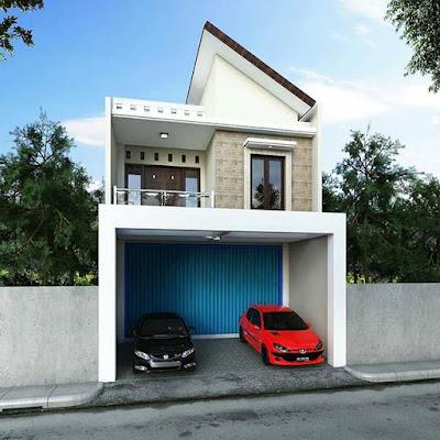 Desain Rumah Unik Sederhana