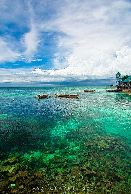 Best Philippines Place Nalusuan Island In Cebu