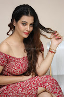 Diksha Panth in a Deep neck Short dress at Maya Mall pre release function ~ Celebrities Exclusive Galleries 045.JPG