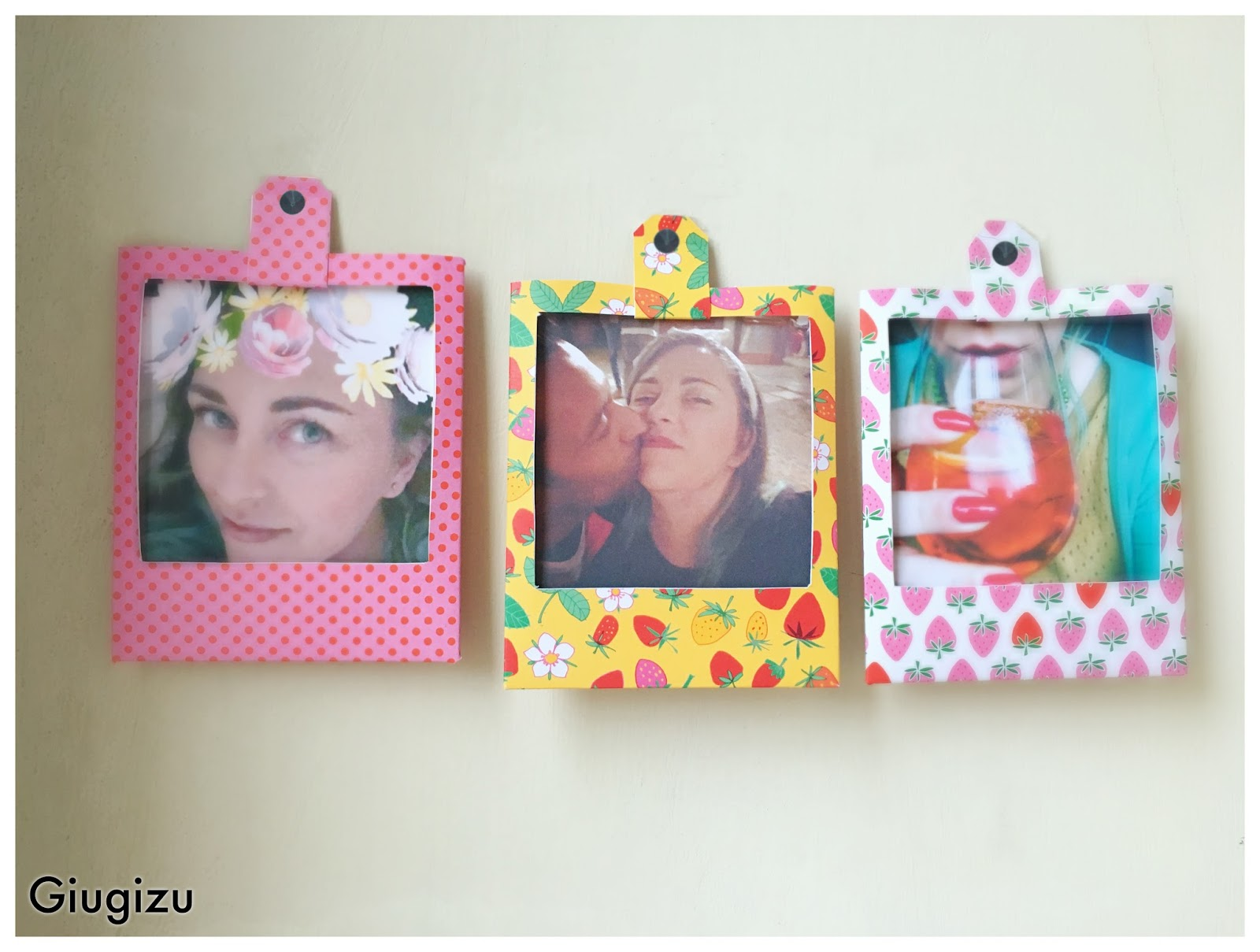 Giugizu S Corner D I Y Polaroid Cardstock Frames Cornici Effetto