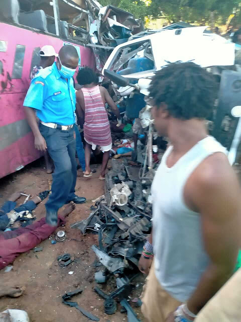 Gede Malindi accident photos news
