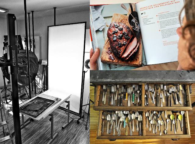 Im Studio von Food Fotograf Mathias Neubauer in Seligenstadt