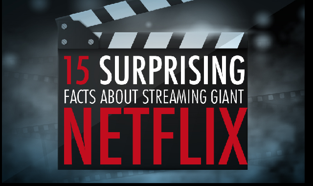 15 Surprising Facts About Streaming Giant Netflix #infographic