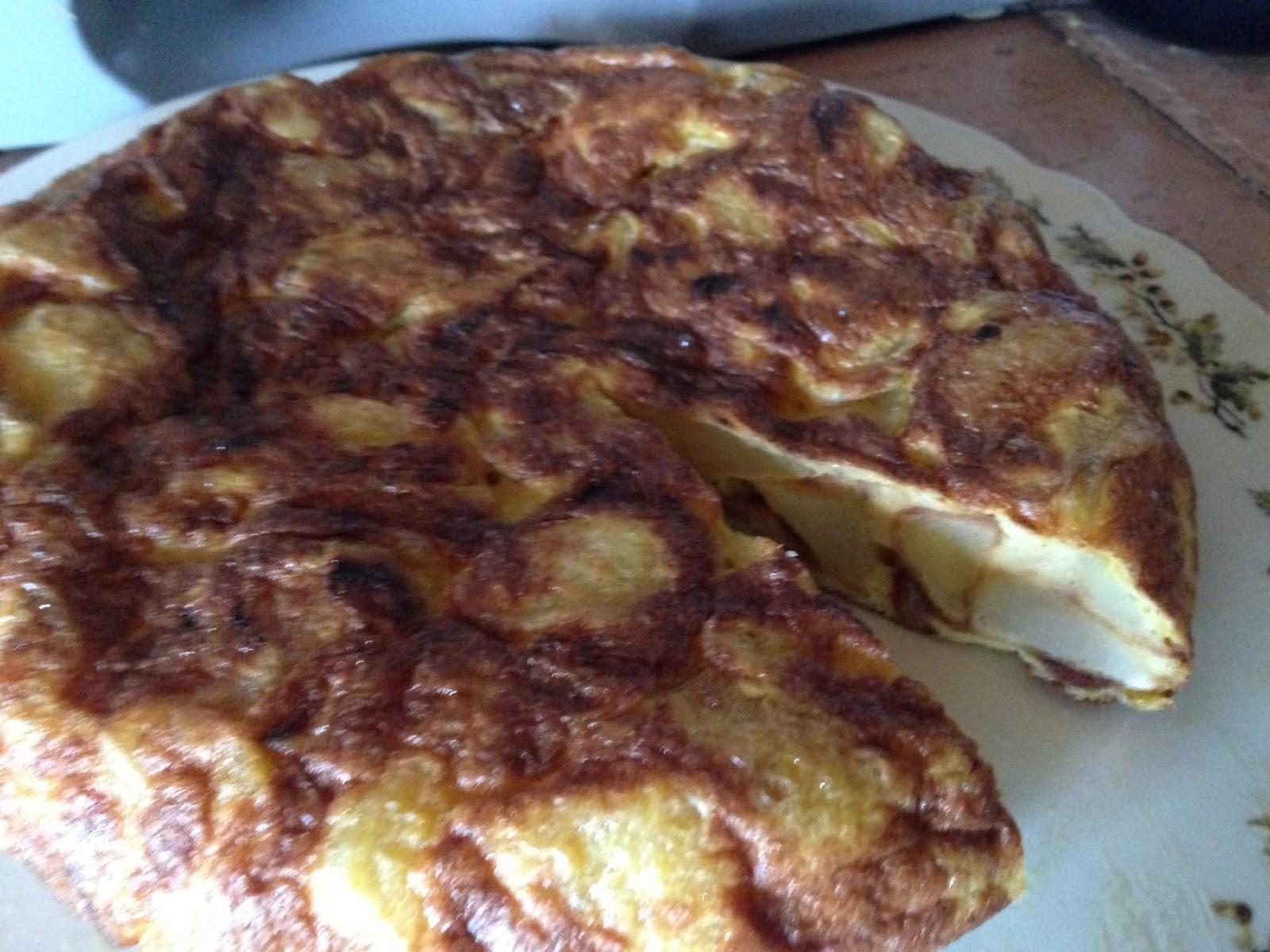 Patata Porner el cesc i la seva cuina: tortilla patatas y sus trucos