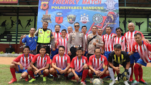 FC Polrestabes Bandung Adakan Pertandingan Persahabatan Bersama 6-Team Sepakbola Mahasiswa Indonesia Timur