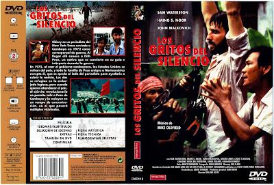 Carátula dvd: Los gritos del silencio (1984)