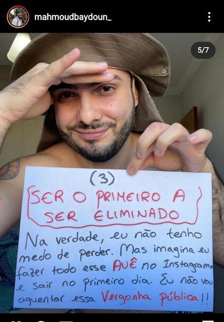 Rondoniense Mahmoud é o primeiro eliminado do 'No Limite'