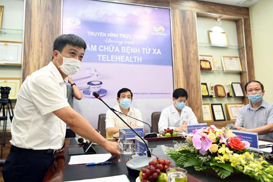 Hình 3 - Ông Nguyễn Mạnh Hổ - Tổng Giám đốc Viettel Solutions tại sự kiện.