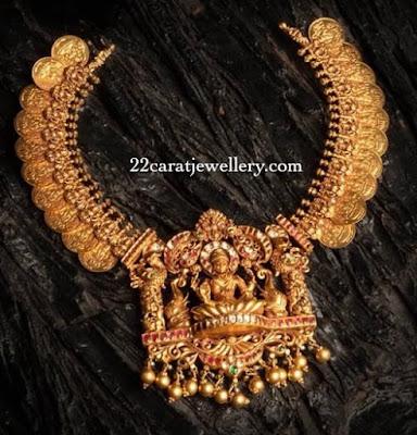 Lakshmi Necklace by Kalasha Jewellers