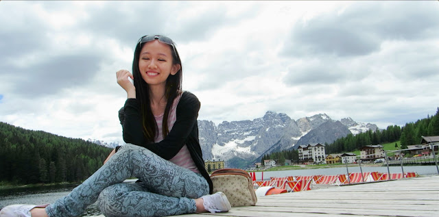 Lake Misurina, Vivian Lee, Miss Happy Feet