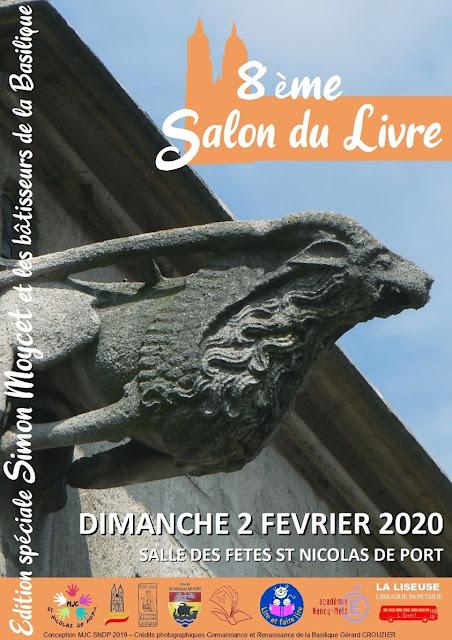 SAINT-NICOLAS-DE-PORT (54) - 8e Salon du Livre (2 février 2020)