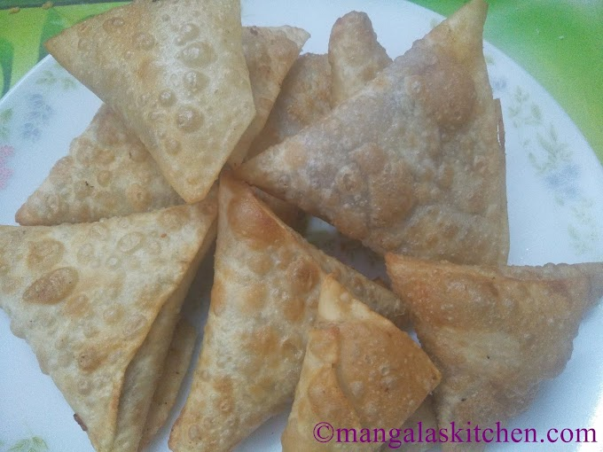 Crispy Vegetable Samosa | Punjabi Samosa Recipe