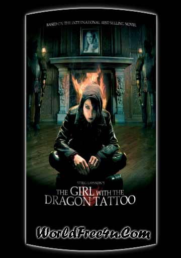 Poster Of The Girl with the Dragon Tattoo (2009) Full Movie Hindi Dubbed Free Download Watch Online At worldofree.co